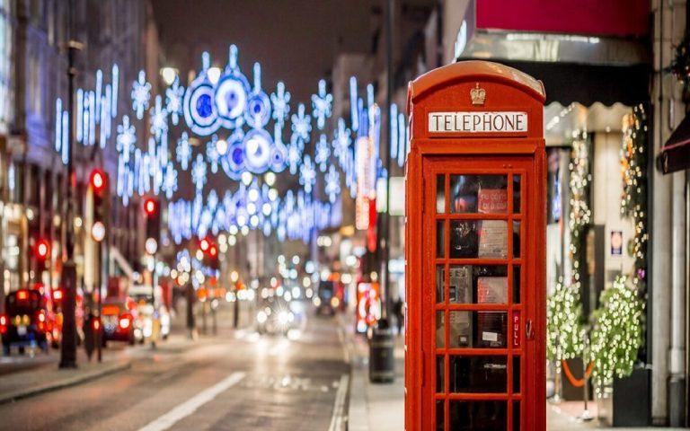 Londres es una de las ciudades de Europa más visitadas en Navidad