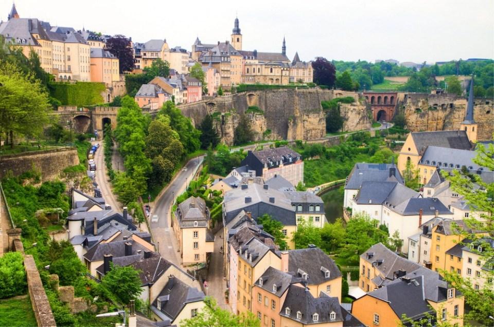 Descubre cuáles son los hoteles más lujosos de Luxemburgo