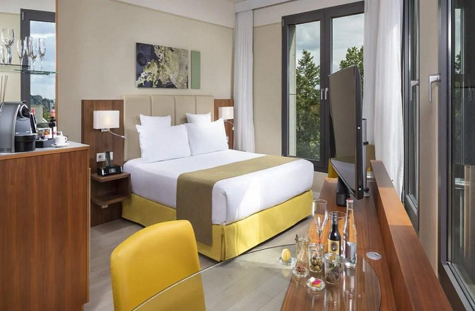 El Meliá es uno de los hoteles más lujosos de Luxemburgo