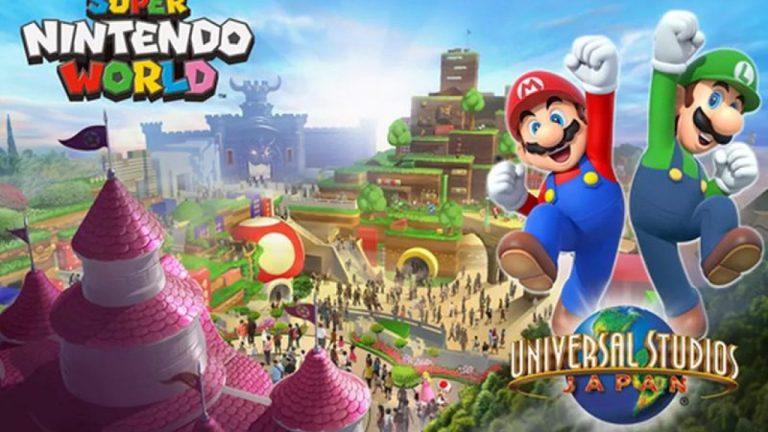 Así es el parque temático Super Nintendo World
