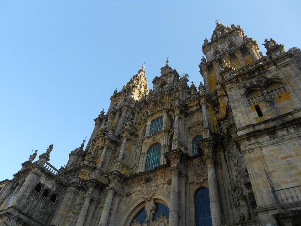 La catedral de Santiago es punto de encuentro de peregrinos de todas partes del mundo