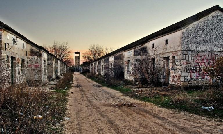 lugares abandonados de Madrid