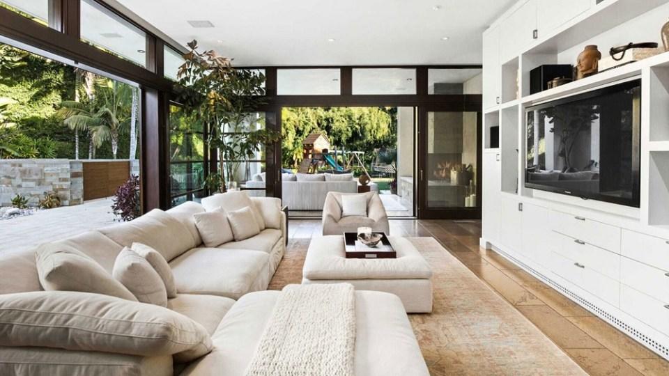 La casa del actor Matt Damon tiene una sala multimedia envidiable