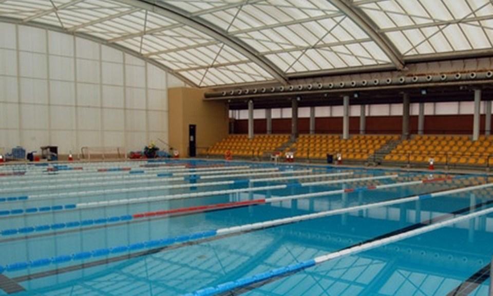 Piscina del Centro Deportivo Hytasa