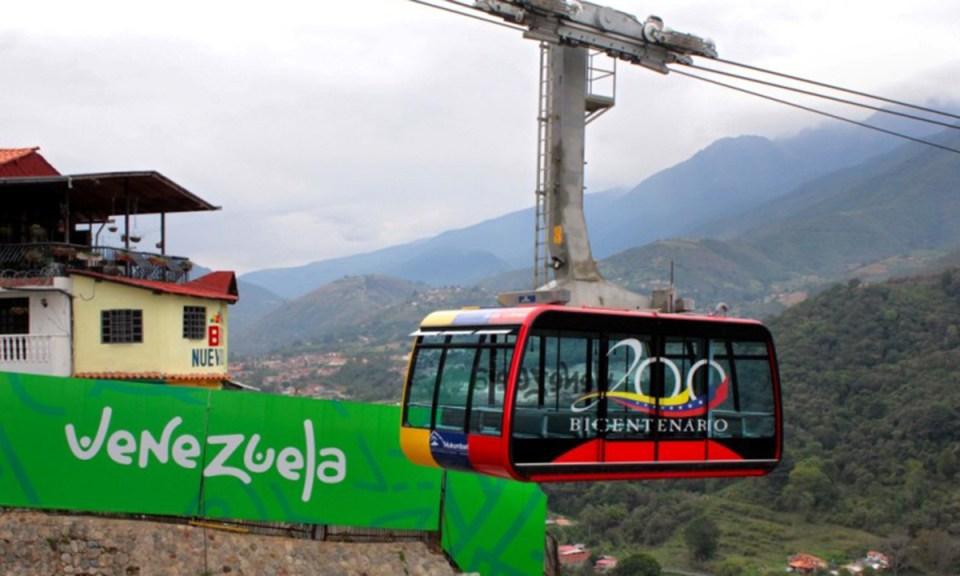 Teleférico de Mérida, uno de los lugares más buscados de interés turístico en Venezuela
