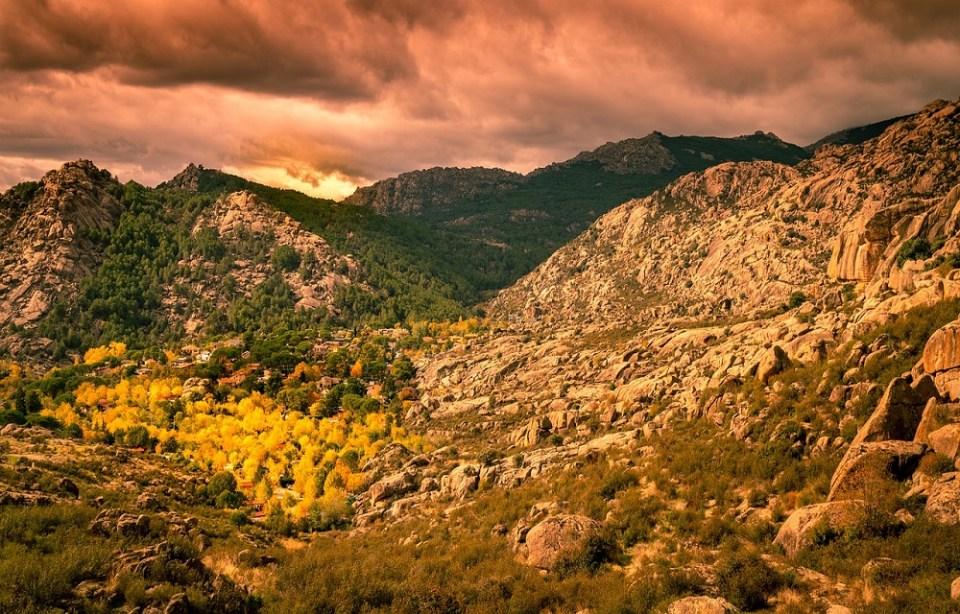 Sierra de Guadarrama rutas de senderismo en Madrid