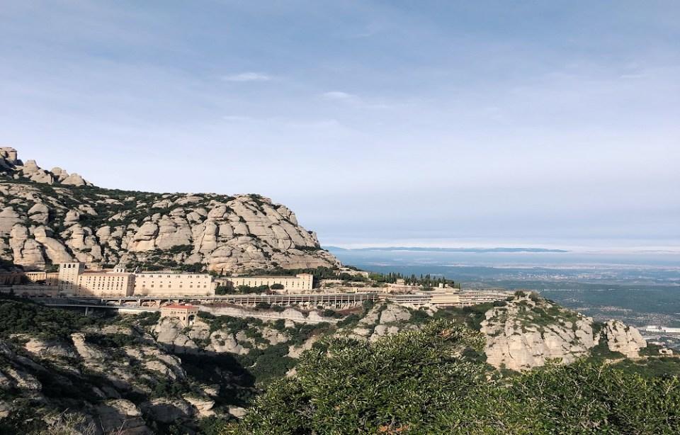 Rutas de senderismo en Barcelona por el macizo de Montserrat