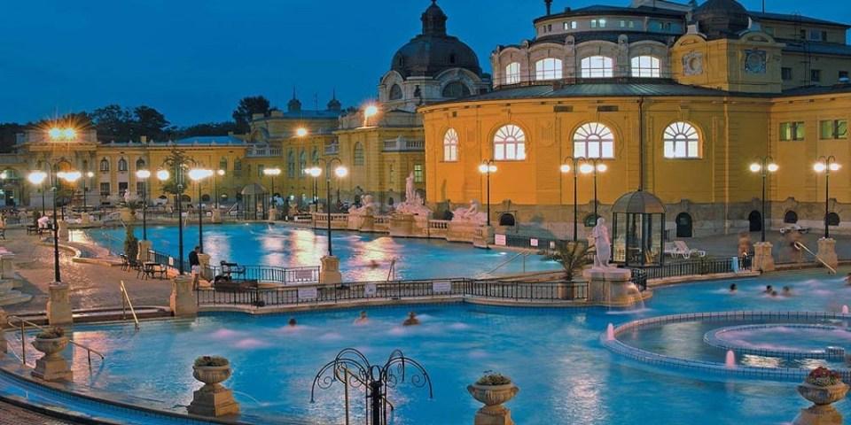 Estos son los baños termales medicinales más grandes de Europa