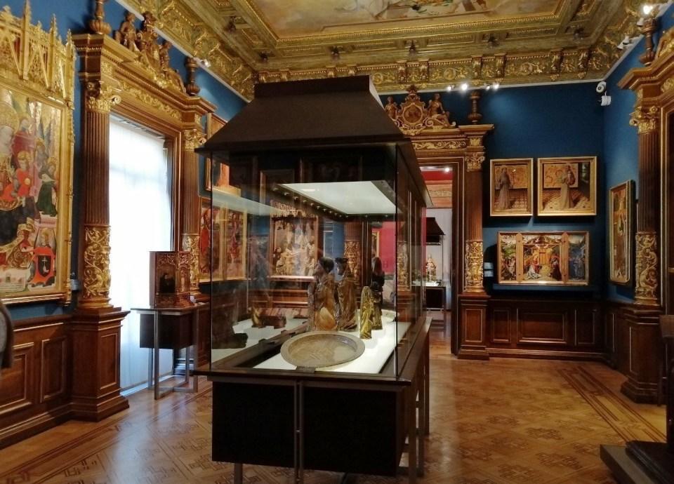 El Museo Lázaro Galdiano tiene cuatro plantas