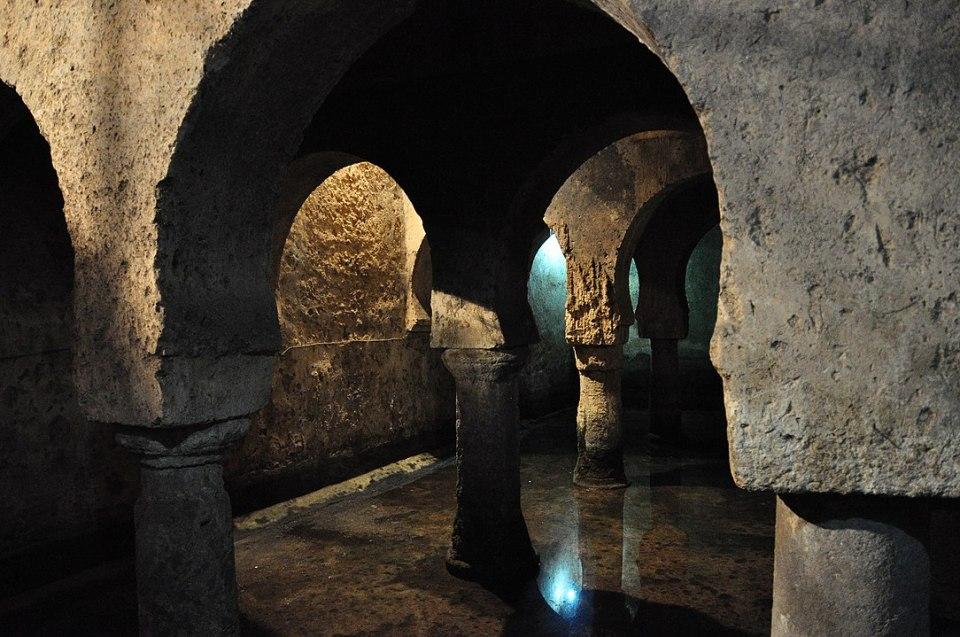 El aljibe del Palacio de las Veletas es uno de los mejores conservados en Europa