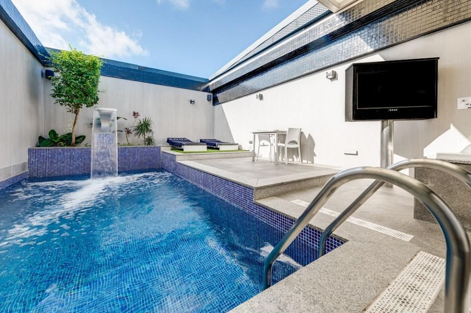 El Zouk hotel es uno de los hoteles con piscina privada en Madrid diseñados para parejas