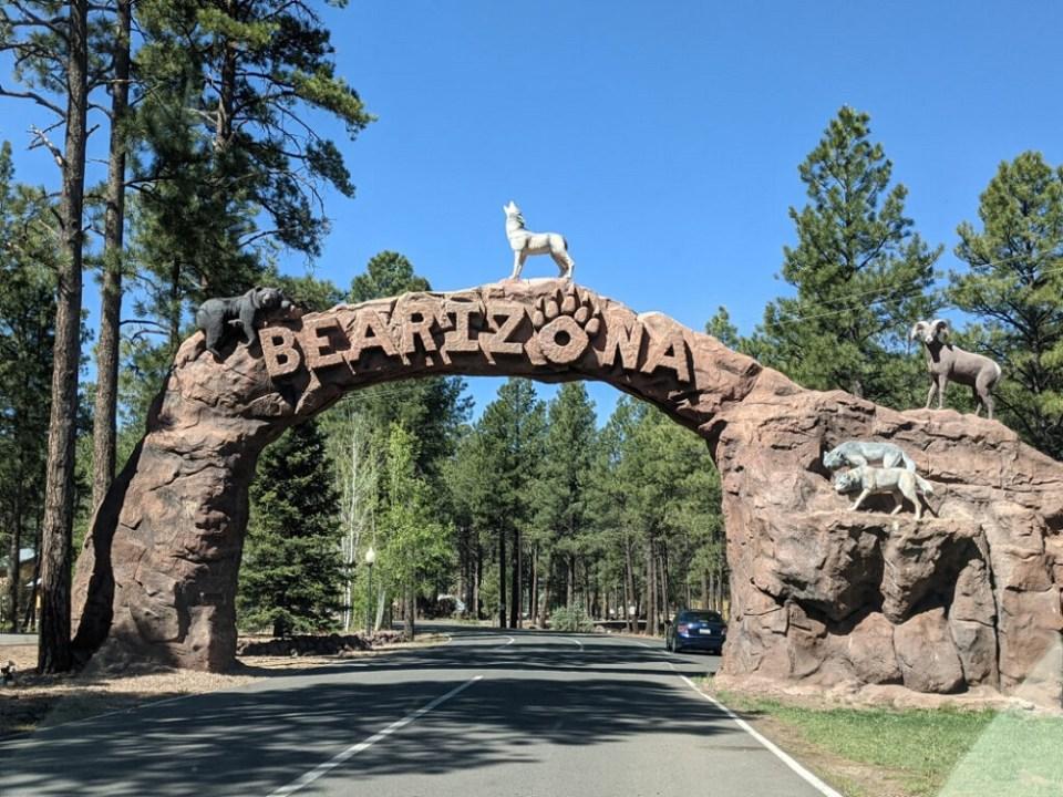 Parque Bearizona en Williams