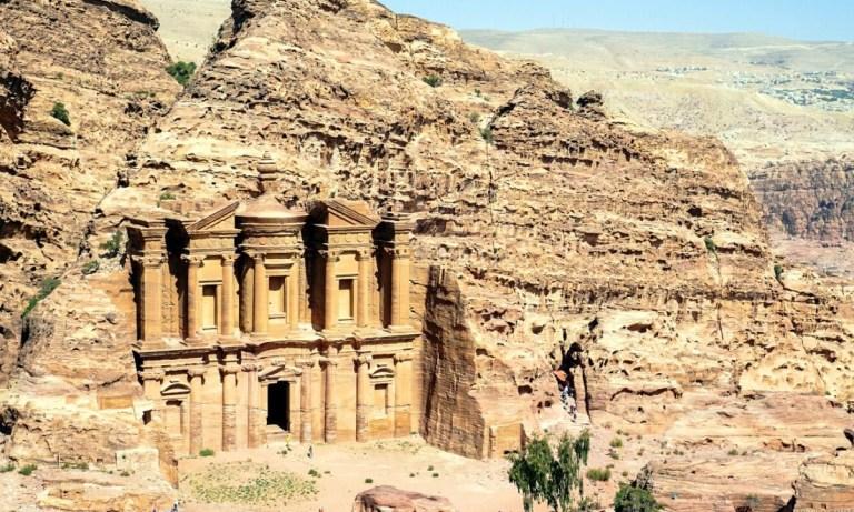 Petra construida por los nabateos