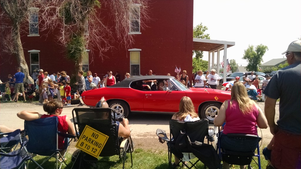A Pontiac GTO even made an appearance!