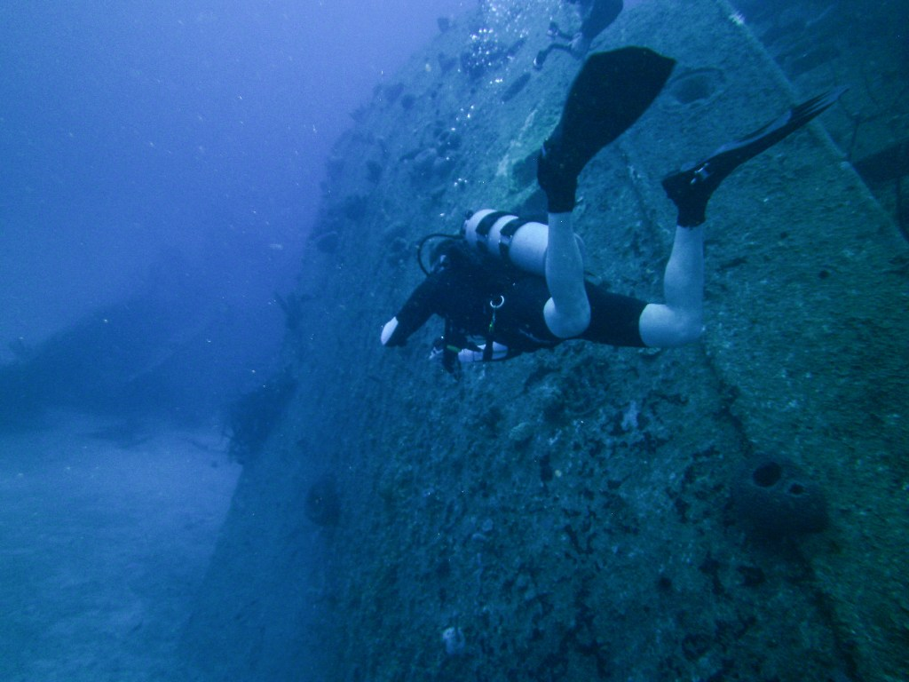 Roatan Shipwreck