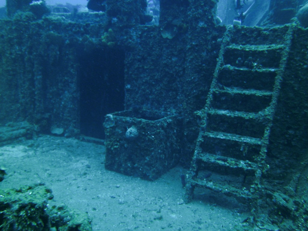 Roatan shipwreck diving