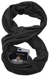 TRAVEL SCARF by WAYPOINT GOODS // Infinity Scarf with ...
