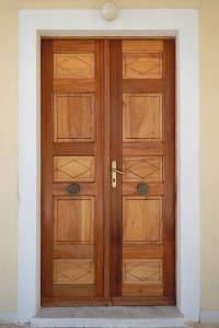 Texture - old clean decorated wood door 15 - Neoclassical ...