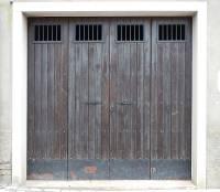 Texture - old wood garage door - Old Doors - luGher ...
