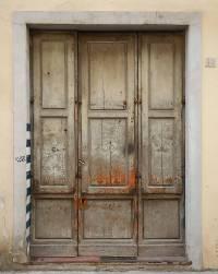 Texture - very old wood door painted - Ruined Doors ...