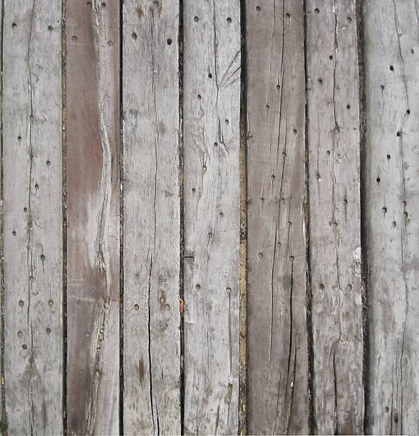 Old Gray Wood Plank Texture