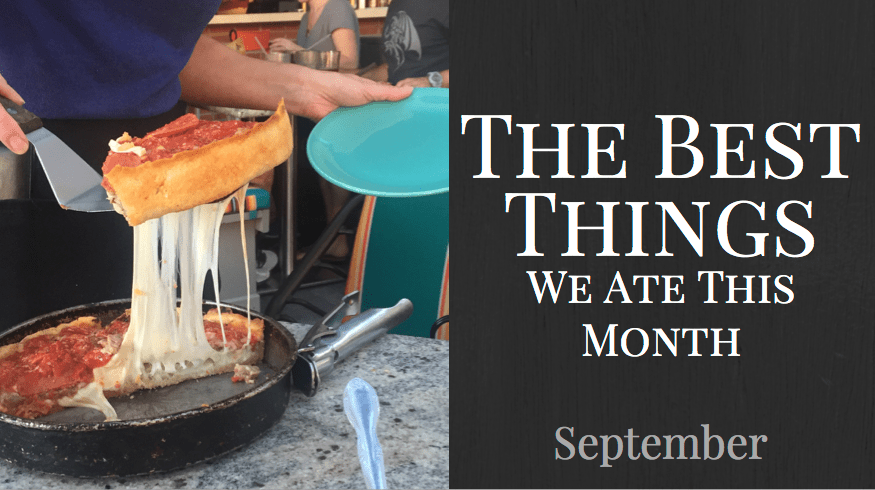 The Best Things We Ate This Month | Lugo & Co