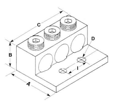 Buy NEMA Panelboard Terminal Connector Mechanical Lugs