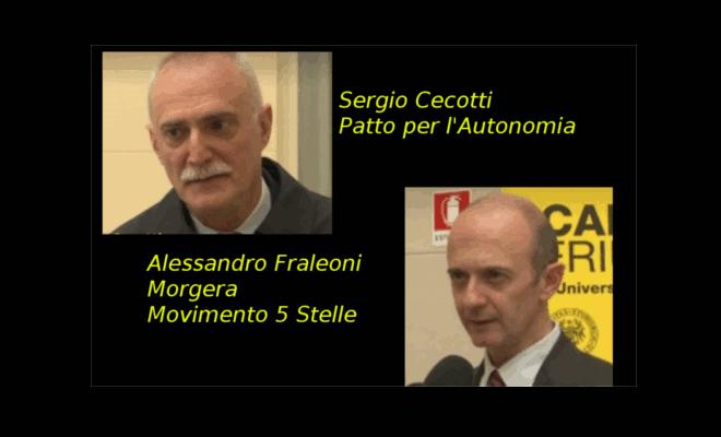 Elezioni Friuli-Venezia Giulia 2018- Candidati Presidenti Cecotti e Fraleoni-Morgera
