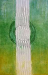 arch.n. 580 I colori della coscienza 125 Affresco su tavola, cm 100x152 anno 2003
