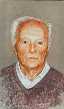 arch.n. 222 – dott. Agostino Traldi affresco su tela cm 48x83 – anno 2000