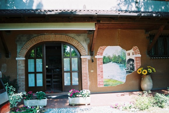 arch.n. 52 Trompe-l'œil mulino - San Giuseppe -TV – cm 216x183 – anno 2002