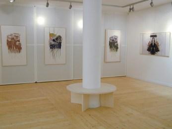 allestimento in galleria Castello Arte Contemporanea
