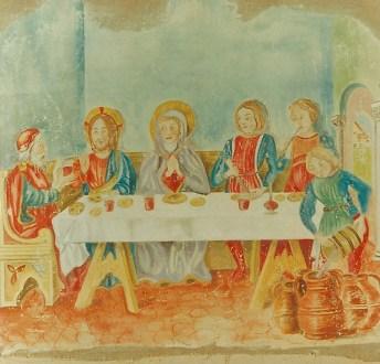 arch.n. 121 nozze Di Cana,cm 90x90 -anno 1996