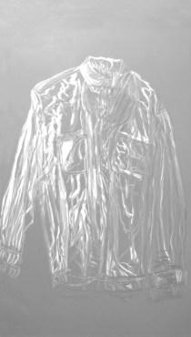 arch.n. 976 Spirito riflesso incisione su plexiglass + fondo specchiato – 2011– cm 58 x h 97- Catalogo ed. Bozzetto e catalogo Art&Media
