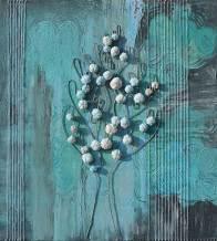 Albero dai buoni frutti, archivio n. 1378, cm 110x100, anno 2016 tecnica mista