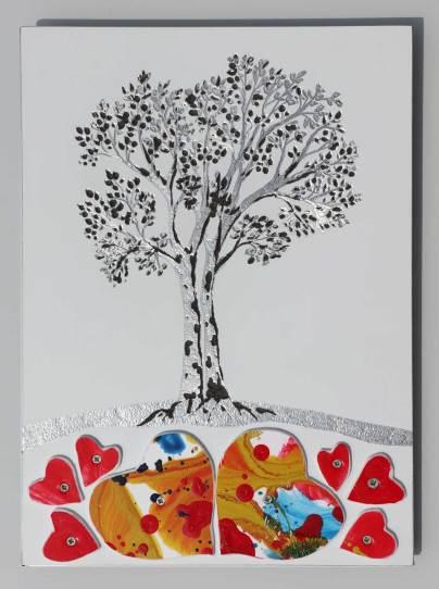 Gli alberi dell'amore, archivio n. 1997, cm 29x21 - 2021