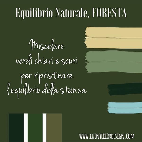 paletta colori, tonalità di verde.