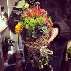 composizione floreale mista