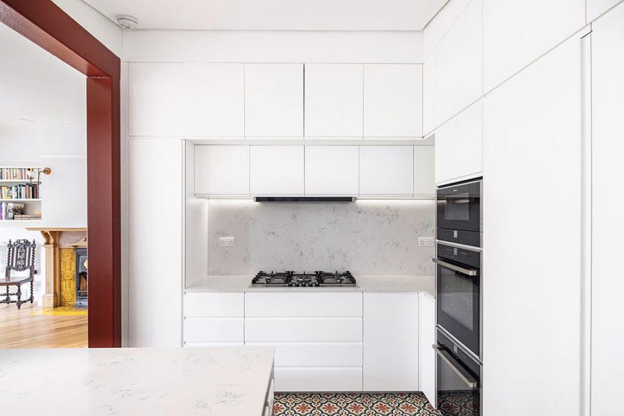 cucina desgin bianca
