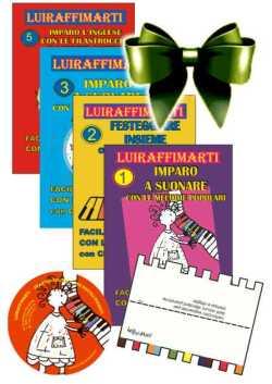 luiraffimarti formato regalo 4 quaderni note colorate