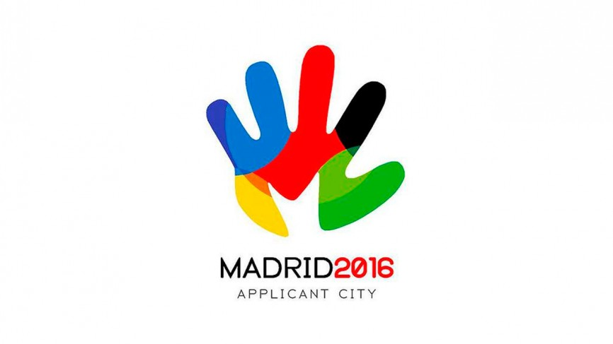 Logotipo Madrid ciudad candidata 2016