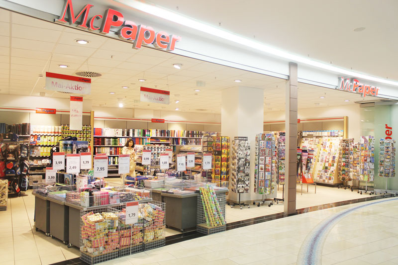 McPaper  LuisenForum Wiesbaden  Einkaufen Qualitts