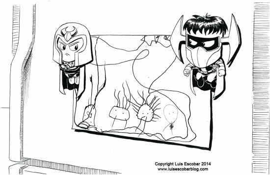 Magneto vs Dr Polaris