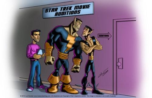 Black Adam vs Namor