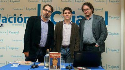 Con Paco Reyero y David González Romero
