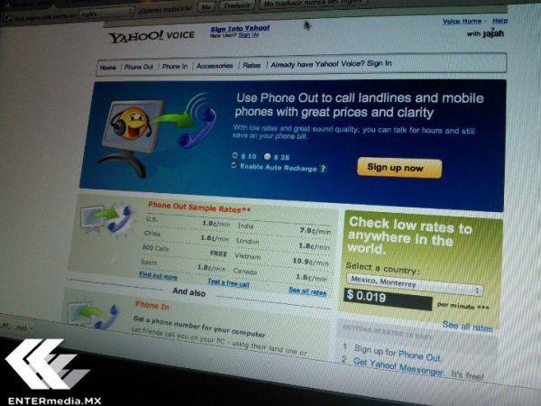 Yahoo Voice hackeada