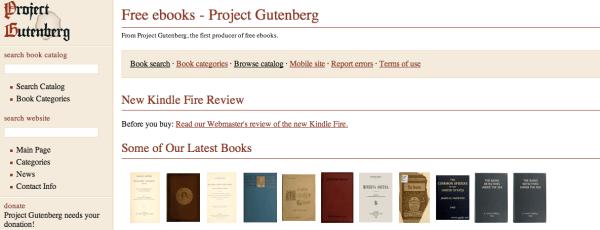 5 sitios para encontrar e-books gratis y legales