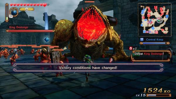 No sólo podrás matar al Rey Dodongo, si no a muchos de los bosses que normalmente ves en la serie de Zelda.