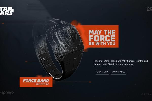 Force Band, para controlar a BB-8