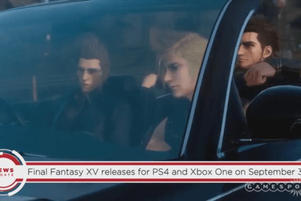 lanzamiento de final fantasy xv